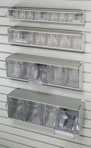Assorted Bin Tilt Storage 2