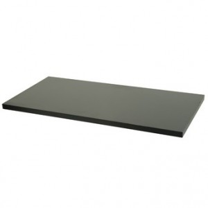 Black Wooden Melamine Shelves