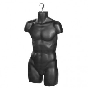 Men's Hanging Torso Form Black