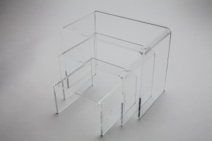 Clear Acrylic Riser Set of 3