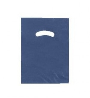 "Bag 9"" x 12"" Navy Blue"