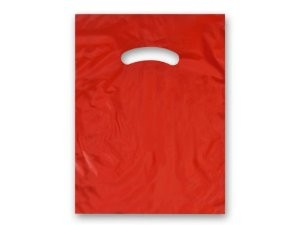 "Bag 9"" x 12"" Red"