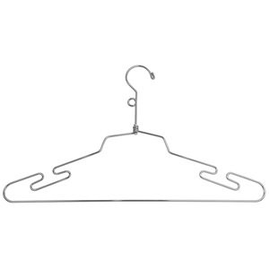 "16"" Chrome Lingerie Hanger"