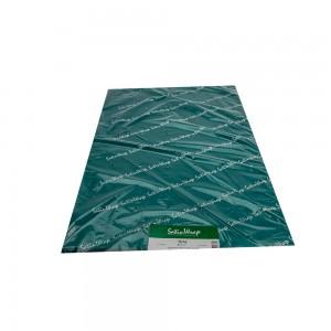 Teal tissue paper.  Approximately 480 sheets per ream.  1/RM