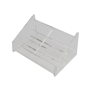 Business Card Holder 6 Pocket Clear