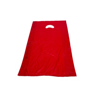 "Bags 12"" x 18"" x 3"" Red. Box of 1000"