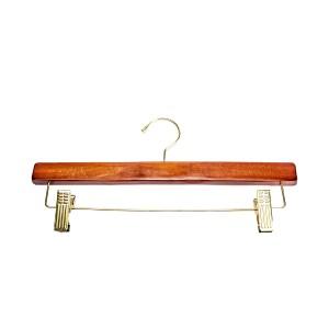 """Skirt Wooden Hanger 14"""" Teak Pant"""