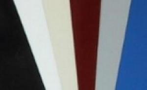 Roll Of Plastic Insert For Slatwall Slats Maple