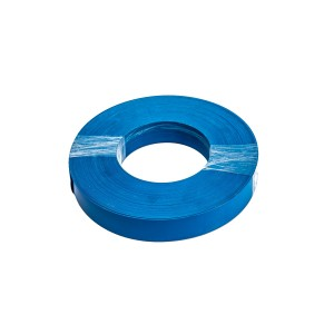 Roll Of Plastic Insert For Slatwall Slats Blue