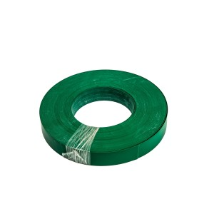 Roll Of Plastic Insert For Slatwall Slats Green