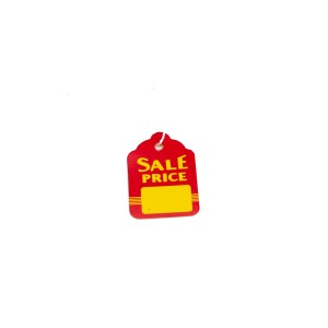 """Sale Price"" Red Background With Yellow Lettering - SP502-US"