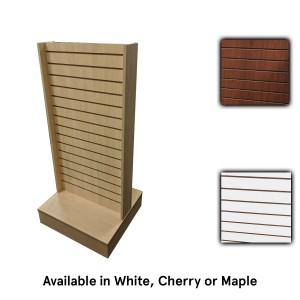 Slatwall 2-Way Maple 24x24x54