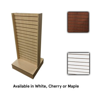 Slatwall 2-Way Cherry 24x24x54