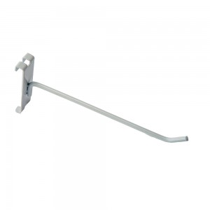 "Gridwall Hook 10"" White: WTE-H10"
