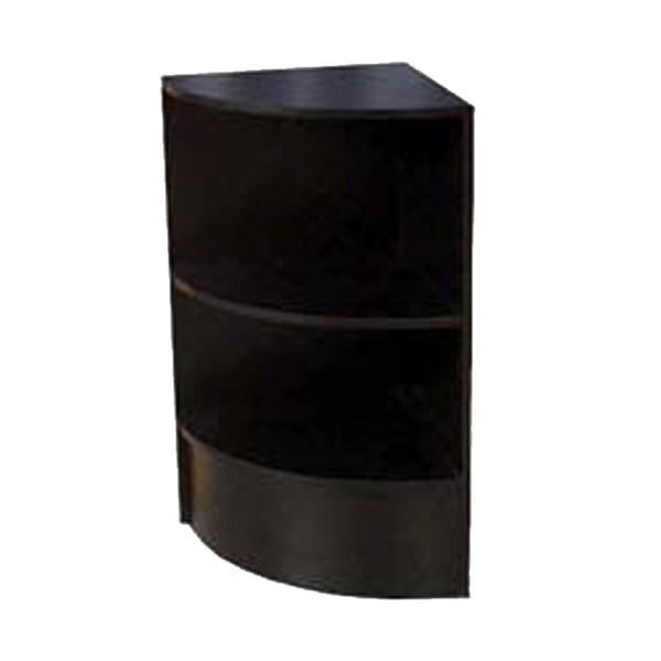 Curved Corner Filler Gloss Black