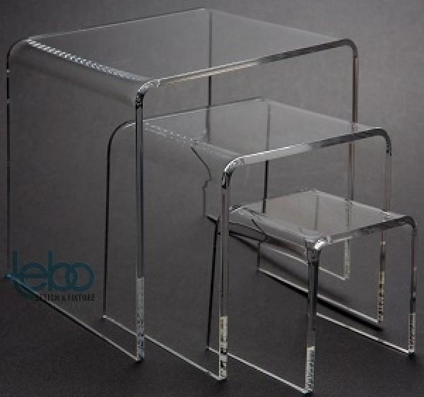 Acrylic Riser Set Of 3 . 3