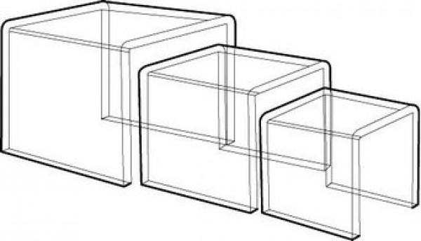 Acrylic Riser Set Of 3 . 2