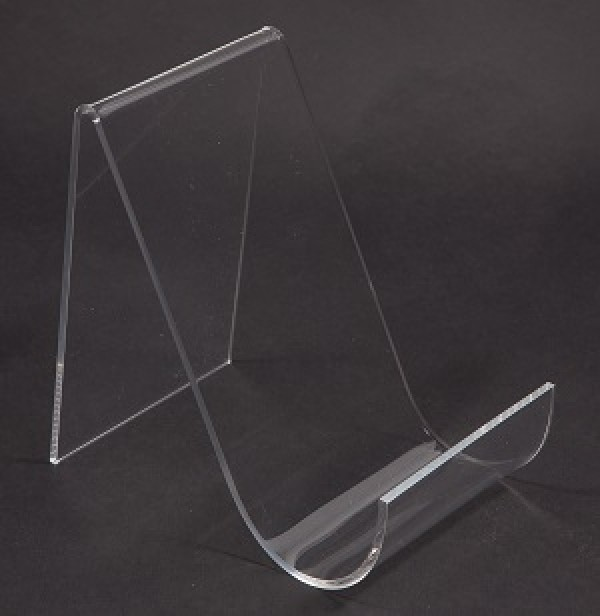 Assorted Acrylic Easels With Lip Clear  2