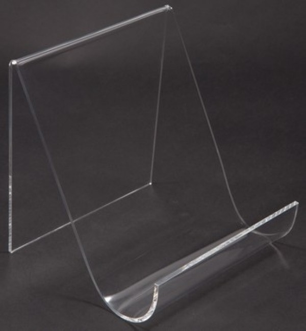 Assorted Acrylic Easels With Lip Clear  5