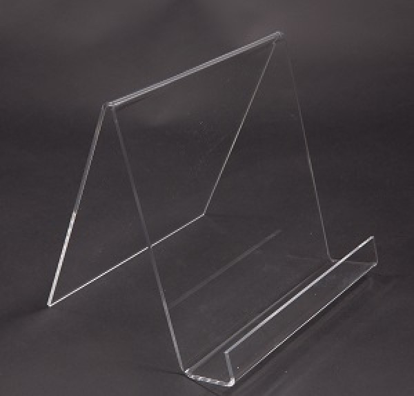 Assorted Acrylic Easels With Lip Clear  6