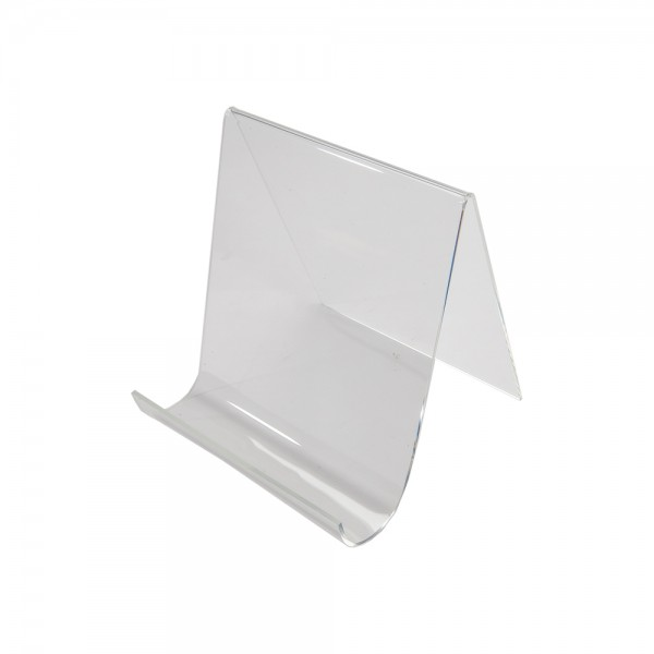 Assorted Acrylic Easels With Lip Clear