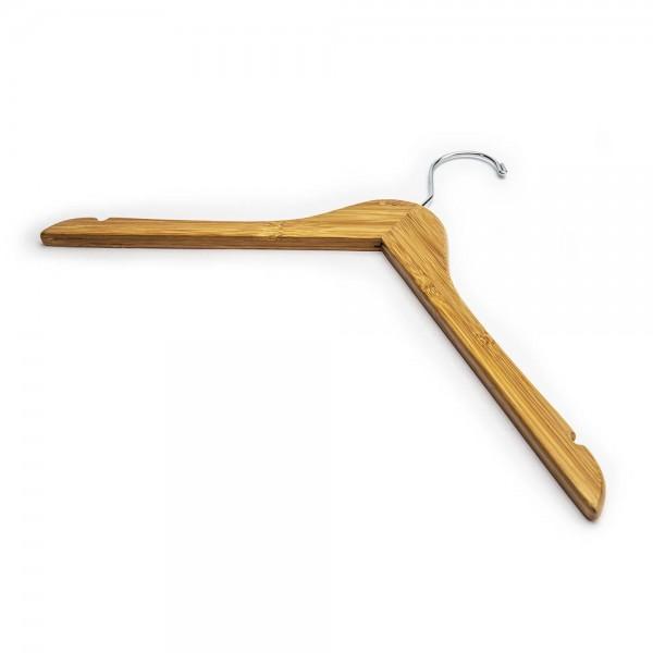 """17"""" Bamboo Coat Hangers"""