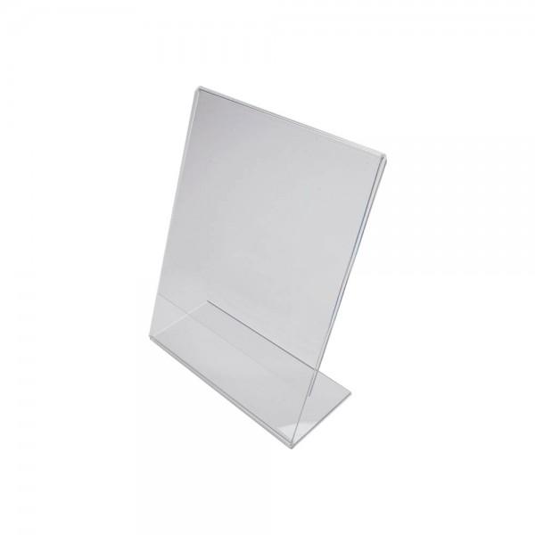 Slanted Paper Sign Holder
