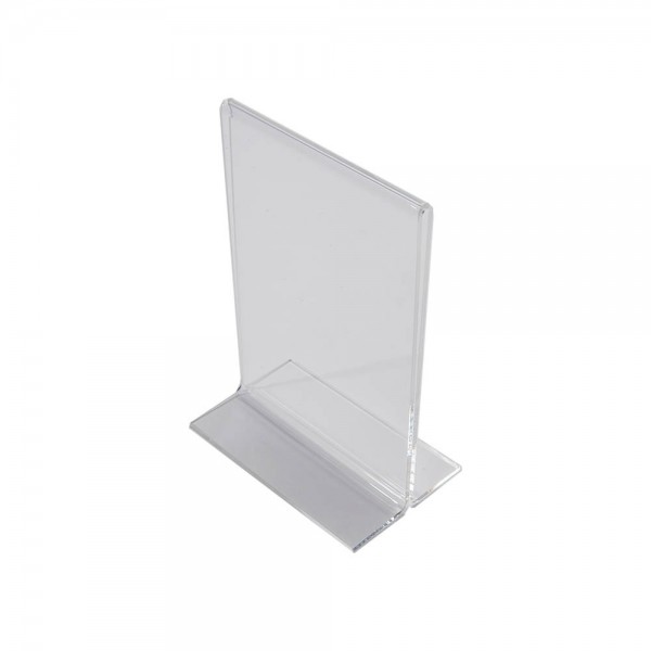 Acrylic Countertop Sign Holder Clear  4