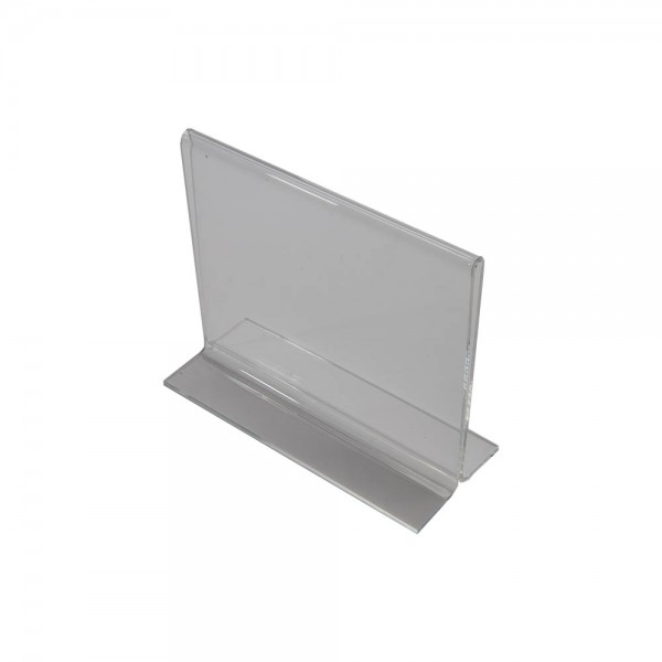 Acrylic Countertop Sign Holder Clear  6