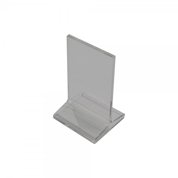 Acrylic Countertop Sign Holder Clear  9