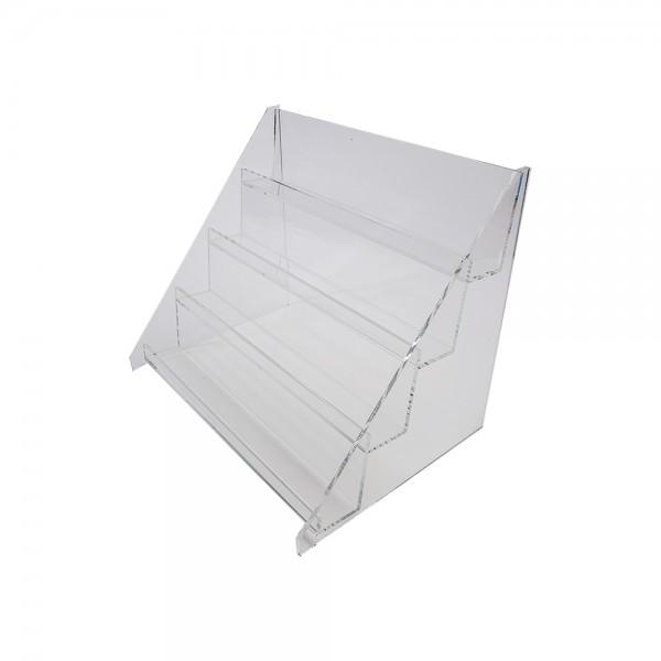 4 Tier Countertop Acrylic Shelf Display