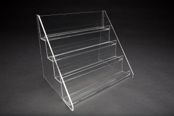 4 Tier Countertop Acrylic Shelf Display  4