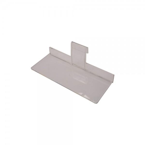 """Acrylic Gridwall Shelf 10"""""""