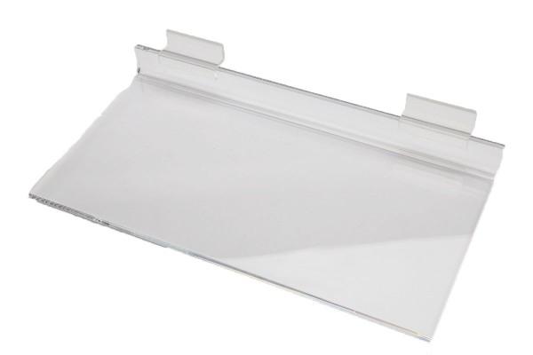 AssAcrylic Slatwall Shelf 1