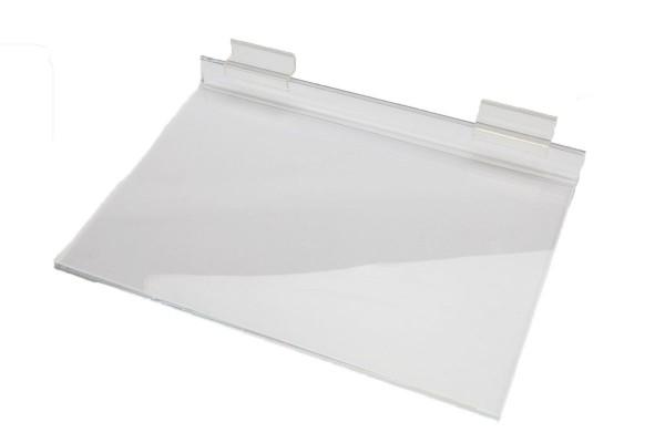 AssAcrylic Slatwall Shelf 2