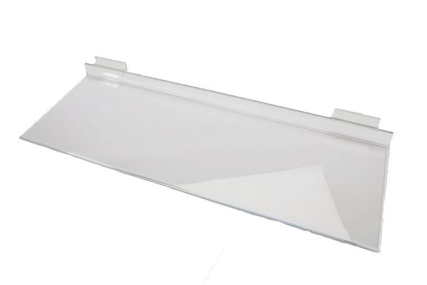 AssAcrylic Slatwall Shelf 4