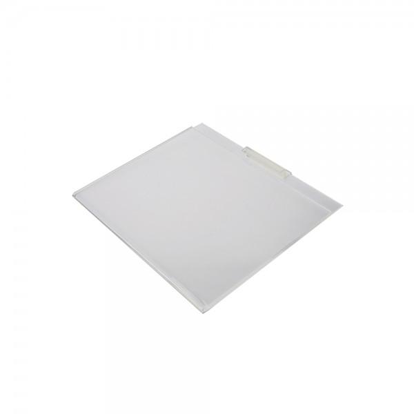 "11"" x 8.5"" Clear Acrylic Slatwall Gridwall Sign Holder"