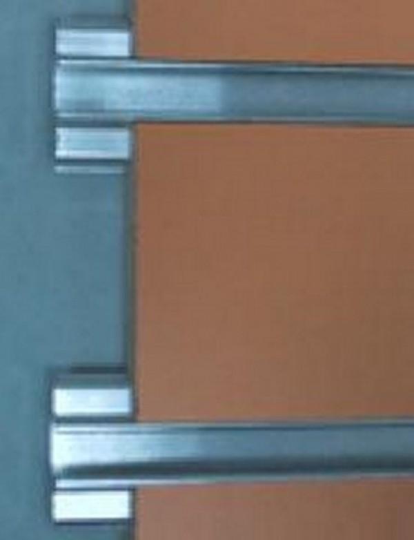 "Slatwall Aluminum Metal Insert 96"" 3"