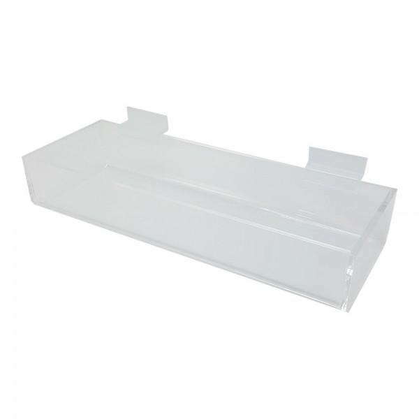 Acrylic Slatwall Display Tray 2214
