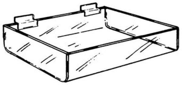 """Slatwall Tray 12"""" x 8"""" x 4"""" x2  4"""