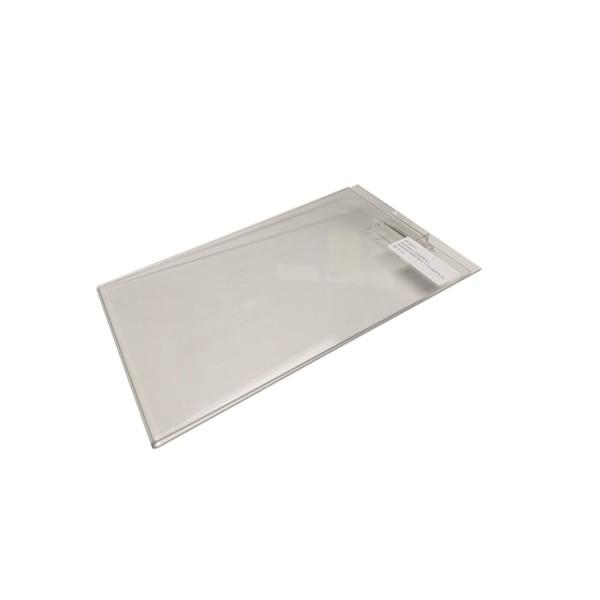 "Acrylic Slatwall / Gridwall Sign Holder 5.5"" x 7"" 1"