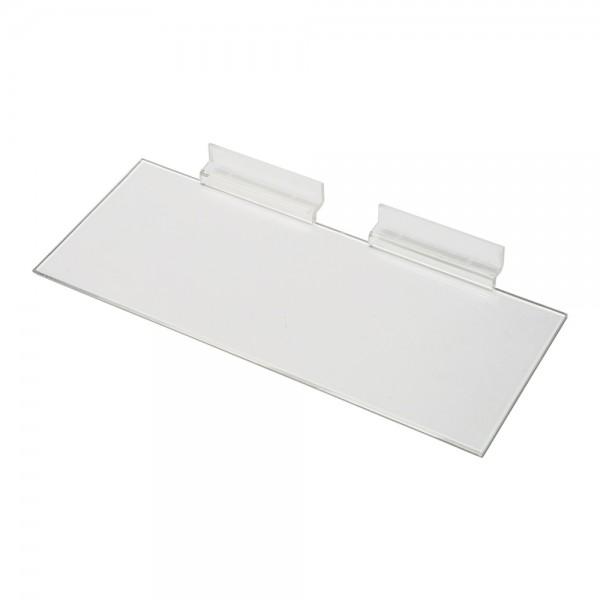 AssAcrylic Slatwall Shelf 6