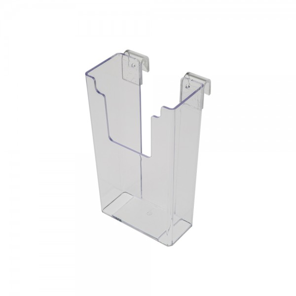 "Acrylic Gridwall Stylized Brochure Holder 8"""