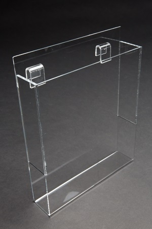 """Acrylic Gridwall Literature Holder With Gaps 11"""" 2"""