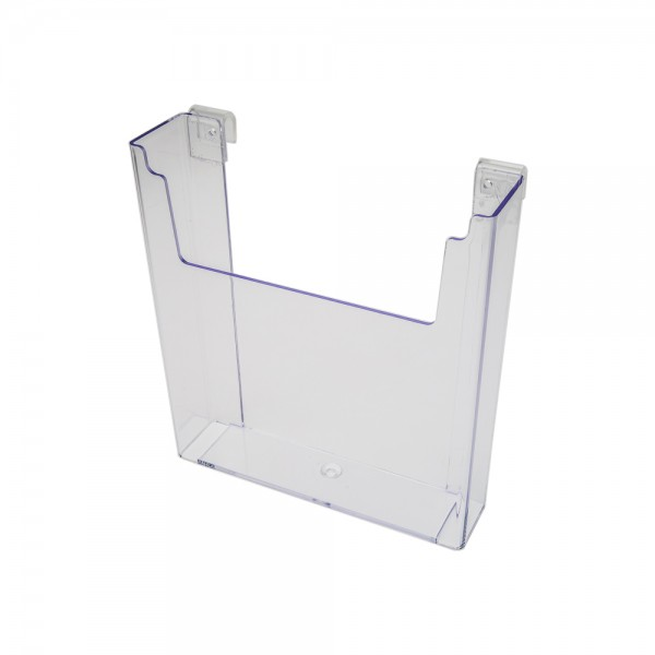"""Acrylic Gridwall Stylized Literature Holder With Gaps 9 1/2"""""""