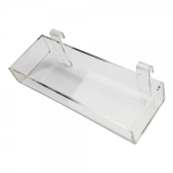"Acrylic Gridwall Tray 12"""