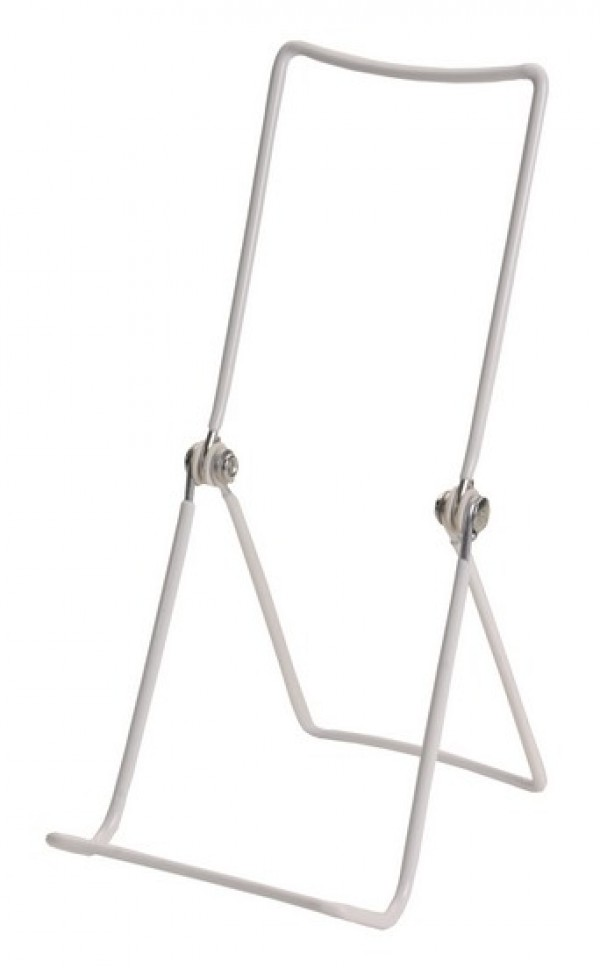 """White Wire Easel 9"""" 2"""