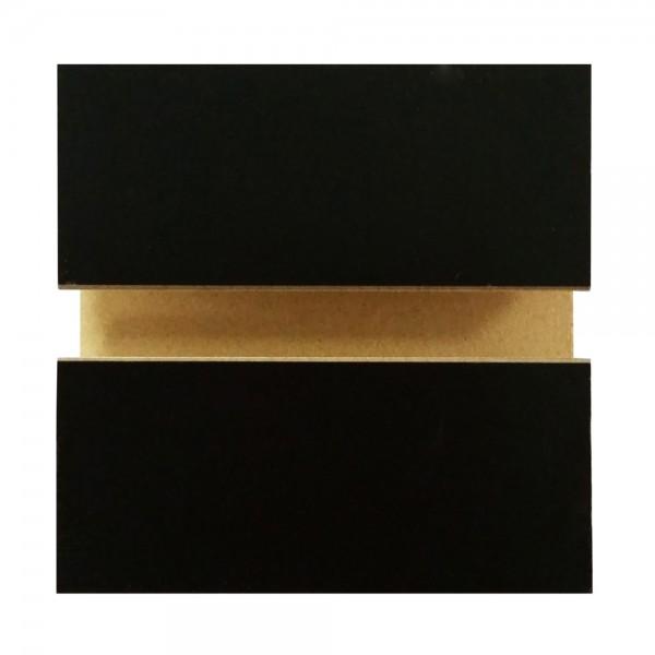 MDF Slatwall Panel 4' x 8' Black
