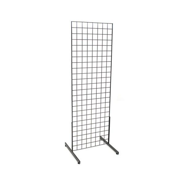 Gridwall Complete Free-Standing Floor Fixture. 2' x 4