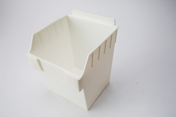 Plastic Slatwall Bin